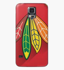 Chicago Blackhawks Minimalist Print Case/Skin for Samsung Galaxy