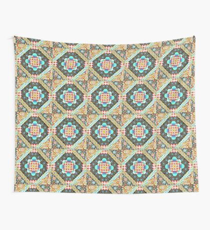 Bricolage Patchwork Quilt (small scale) Wall Tapestry