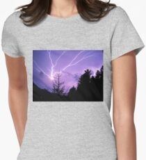 lightning of my dreams Womens Fitted T-Shirt