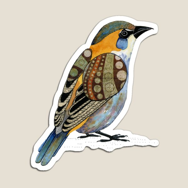 House Sparrow Magnet