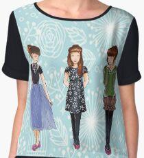 Outfits Women's Chiffon Top