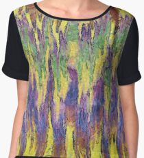 Leaping Colours Women's Chiffon Top