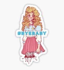 #BYEBABY Sticker