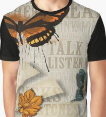 Talk Less Listen More Graphic T-Shirt