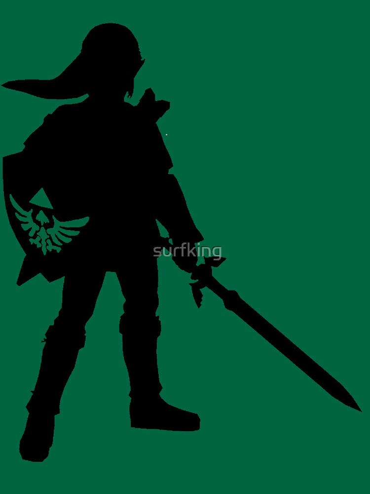 TShirtGifter presents: The Legend of Zelda Link Silhouette | Unisex T-Shirt