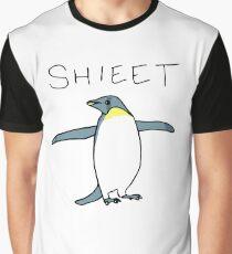 Shieet Penguin Graphic T-Shirt