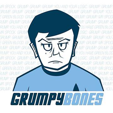 Grumpy Bones by cmaghintay