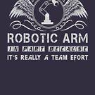 «Robotic Programmer & Developer T-shirt» de nasa8x