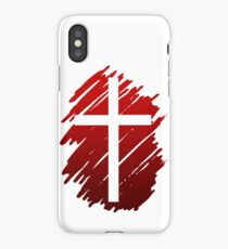 Jesus Christ Son of God Lord Cross iPhone Case