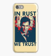 Iconic - In Rust We Trust iPhone Case/Skin