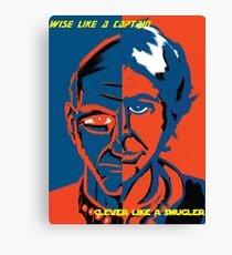 Clever Like a Smuggler Wise like a Captain Canvas Print