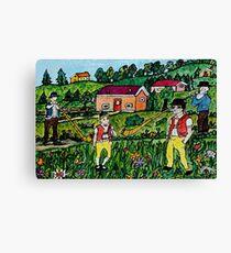 Traditionally Swiss  Canvas Print