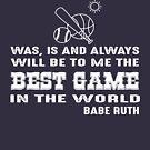 «El béisbol siempre será para mí el mejor juego del mundo» de nasa8x