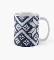 Retro Nordic Jersey Pattern Mug