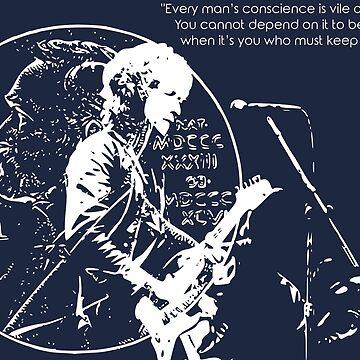 Bob Dylan Nobelpreisträger ver.transparentwhite von Schwaz