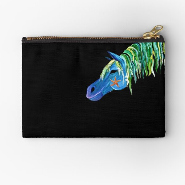 """Sea Stallion"" Zipper Pouch"