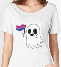 Bisexual Pride Ghost Women's Relaxed Fit T-Shirt