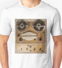 Vintage tape sound recorder reel to reel  Unisex T-Shirt