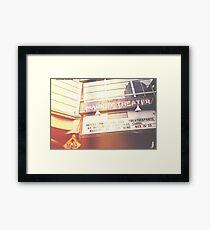 Market Theater Framed Print