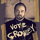 VOTE CROWLEY by KanaHyde