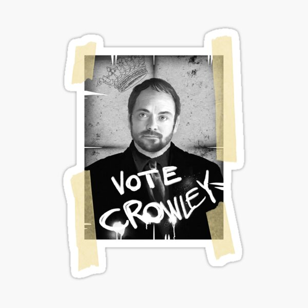 VOTE CROWLEY Sticker