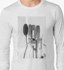 Microphone , sound recording equipment for singing T-Shirt