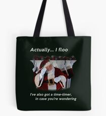 Actually I floo Tote Bag