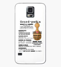Gourd-pedia What's a Gourd Phone Case Case/Skin for Samsung Galaxy