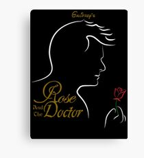 Rose and the Doctor Canvas Print