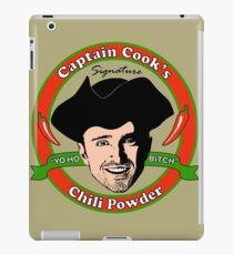 Captain Cook's Chili P iPad Case/Skin