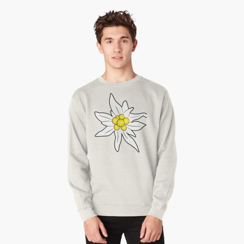 Edelweiss flower Pullover Sweatshirt