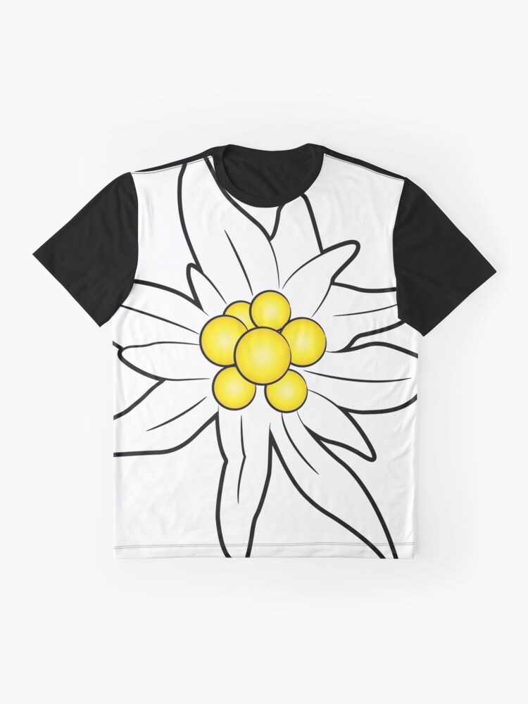 Alternate view of Edelweiss flower Graphic T-Shirt