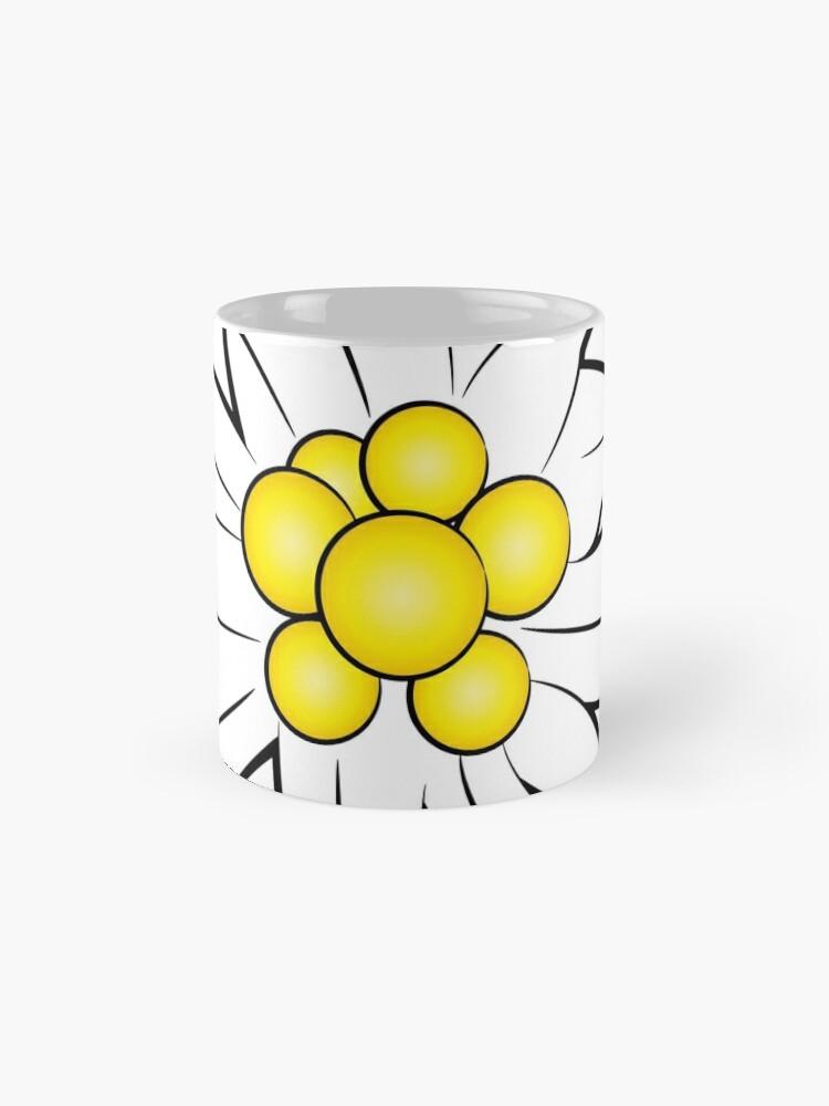 Alternate view of Edelweiss flower Mug