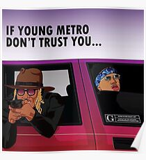 if young metro Poster