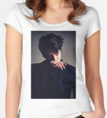 EXO Monster Sehun Women's Fitted Scoop T-Shirt