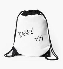 Oops! Hi Larry Stylinson  Drawstring Bag