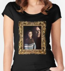 A Portrait of Swagger Women's Fitted Scoop T-Shirt