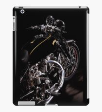 Vincent Black Shadow Engine iPad Case/Skin