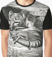 ICON ~ Thylacine Mother and Young by tasmanianartist Graphic T-Shirt