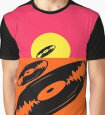 Pop Art Vinyl Record Endless Graphic T-Shirt