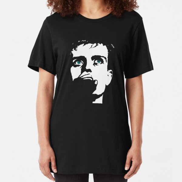 Ian Curtis, touching from a distance Slim Fit T-Shirt
