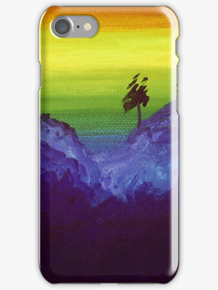 Haiku 2, for iPhone Case by Angelica Farber