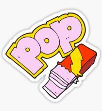 cartoon bubble gum Sticker