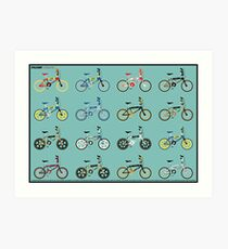 Raleigh burner series 83-85 Art Print