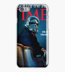 Time - person of the year - death trooper rogue one iPhone Case/Skin