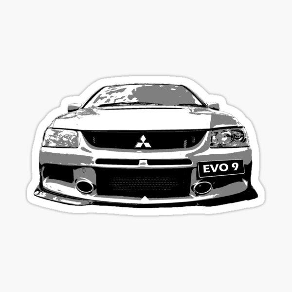 Mitsubishi Lancer Evo 9 Sticker