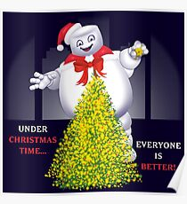 Christmas Staypuft Poster