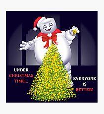 Christmas Staypuft Photographic Print
