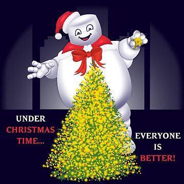 Christmas Staypuft by FraStiller