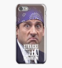 Straight Outta Scranton - Prison Mike iPhone Case/Skin